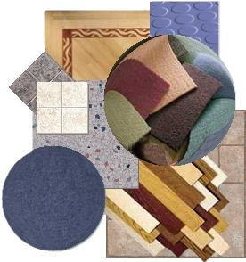 collage of various types of flooring images